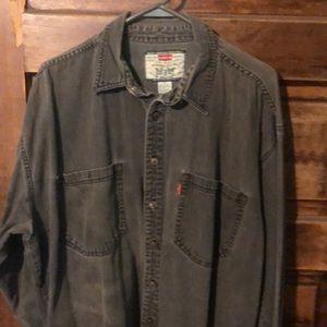 Genuine vintage Levi's denim shirt!